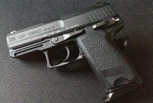 H K guns