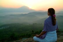 Mindfulness / Practicing mindfulness through meditation develop self-awareness and reduce stress