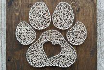 Lankataide String art Wire art