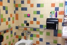 Susan Jablon School Tile Projects / Beautiful and fun tile designs perfect for any school, company, college, or other commercial spaces