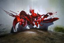 My style is an illusion / Incredible 3D Grafitti Street Art