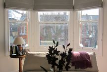 Home ~ Bay Window / How to decorate and dress up a bay window