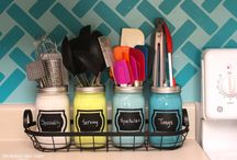 apartment ideas -organization / by Courtney Rebello