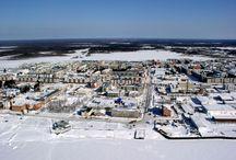 Белоярский - город, где живу теперь / Фотографии города Белоярского, сделанные мной и не только.