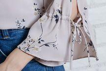 Variasi blouse dan model lengan