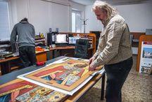Tvorba umělecké reprodukce pravoslavné ikony