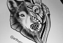 Drawings Tattoos /  Tattoo, Desenhos, Drawings