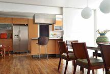 Cafofo cozinha semi integrada