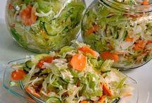 Saláta télire