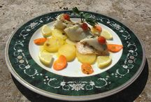 """Italian cuisine at Dante Siena / Dishes prepared in our intensive cooking program """"Summer palate"""""""