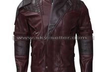 Star-lord Distressed Leather Jacket Never Seen Before Limited Edition / Guardians of the Galaxy Vol. 2 Star-lord Distressed Leather Jacket Never Seen Before Limited Edition.