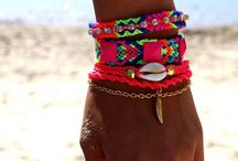 pulseras que me gustan / pulseras / by lourdes Rivero