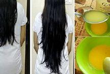 pour de plus longs cheveux