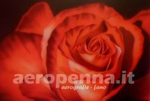 "Airbrush Art by ""aeropenna"" / aerografie su pannelli (airbrush on wood or alluminium)"
