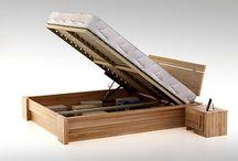 Meble bukowe z pojemnikiem / Kolekcja łóżek skrzyniowych dedykowanych Klientom, którzy cenią sobie funkcjonalność i elegancję naturalnego drewna.  Łóżka wykonane są w całości z litych elementów bukowych - wytrzymałych i solidnych pomimo łagodnego wyglądu. Wszystkie łóżka bukowe wykańczane są olejem meblowym i woskiem - zapewniając - zdrowy i ekologiczny sen. Więcej na http://www.meblemix.pl/lozka-z-pojemnikiem/bukowe/