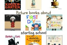 Back to School Books / Perfect books to ease out of summer and beat the back-to-school blues. Build community.