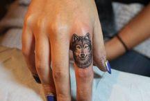 Finger Tattoos / by Destani RaeAnn