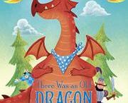 """There Was an Old Dragon Who Swallowed a Knight / We all know that """"there was an old lady"""" who swallowed lots of things. Now meet the old dragon who swallows pretty much an entire kingdom! Will he ever learn a little moderation?! This rollicking rhyme is full to bursting with sight gags, silly characters, and plenty of burps! Parents and kids alike will delight in Ben Mantle's precisely funny illustrations and in Penny Parker Klostermann's wacky rhymes."""