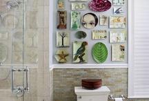 Small toilets decoration