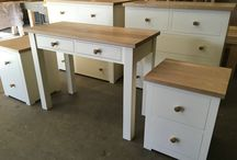 Bedroom furniture / Bedroom furniture in oak, Pine and Painted woods.  All bespoke and made for each customer.