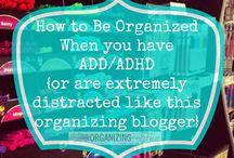 Organising ADD/ADHD