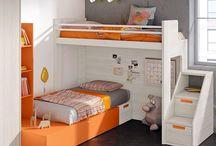 Literas / #mueble #juvenil #literas #litera #habitacion #juniorroom #compartir #habitacioncompartida #dormitorio