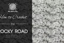 Crochet Stitches & Techniques we love / There are tons of crochet stitches and different techniques out there on the internet and in books. Here are some of our Challengers favorites! / by Battle of the Stitches