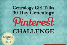 Genealogy Pinterest Challenge