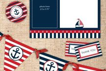 Nautical party decoration