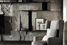 lighting shelves wall