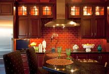Color me RED!  Surprising and Fun Cabinets / Is RED one of your favorite colors?  Dramatic and fun!  Check out our collection of Red Cabinets - Kitchen, Bathroom, Storage We can help make your space unique, fun AND useful!