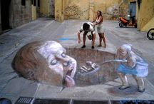 Arte Callejera / Fotos de fabulosas pinturas elaboradas en la calle.