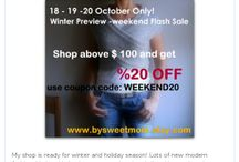 Winter Sale / by Bysweetmom Shop
