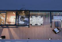Unique combined wellness sauna house - personalized design