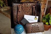 Jewell Jones & (Rare) Brahmin 100% Authentic