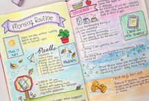 planner/bullet journal