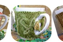 Knitting - Mug Cosies
