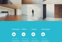 HTML Architectural Templates