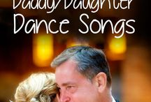 DADDY AND DAUGHTER DANCE SONGS