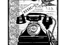 Typewriters and Telephones