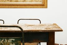 Spaces: Detail / The little details that make for a great space. Minimal, rustic, industrial and modern.