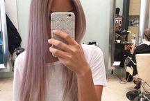Pastell Pink / grau