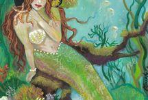my inner mermaid / by Teresa Kalil