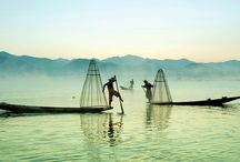 Inle Lake Myanmar / Exploring one of the best lakes in the country called Inle Lake by boat.
