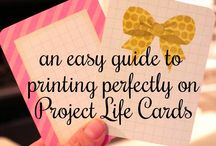 Project Life Scrapbooking / by Brittany Brooks