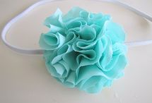 Fabric Flowers & Bows Galore!!! / by Amanda Smith