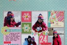 Scrapbook Layouts 3-4 pictures