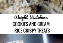 Rice krispie/marshmallow treats
