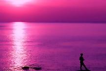 the sunset and sunrise