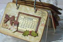 Calendars - hand made